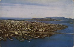 Aerial VIew of City and Golden Gate