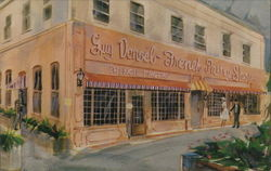 Denoel French Pastry Shop Postcard