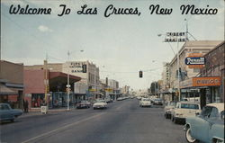 Welcome to Las Cruces - View of Business Section