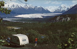 Matanuska Glacier, Chugach Mountains