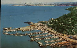 Air View of Sausalito, California