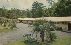 Silver Sands Motel Postcard
