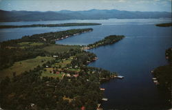 View of Lake George Points and Bays