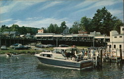 """Flying Yankee 11"" Docked at Weirs Beach Postcard"