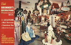 Bronner's Decorations - America's Largest Year-Round Display of Christmas Decorations