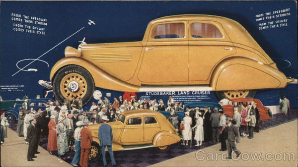 Studebaker Land Cruiser Cars 1933 Chicago World Fair
