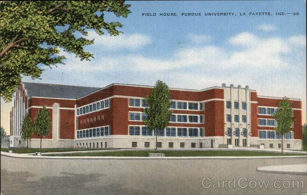 Purdue University - Field House Lafayette Indiana