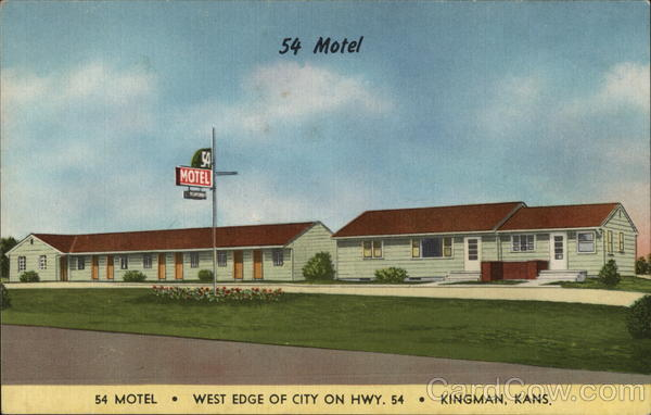 54 Motel Kingman Kansas