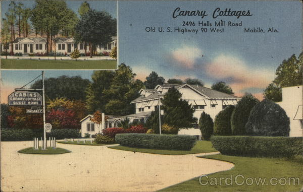 Canary Cottages Mobile Alabama