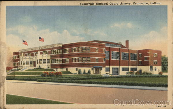 Evansville National Guard Armory Indiana