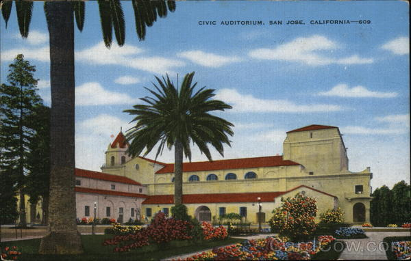 Civic Auditorium San Jose California