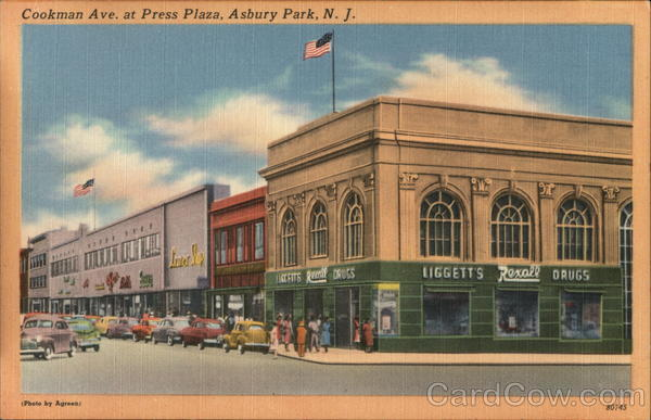 Cookman Ave. at Press Plaza Asbury Park New Jersey