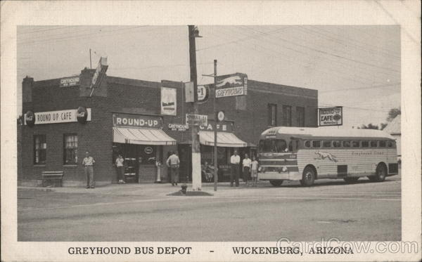 GREYHOUND BUS DEPOT WICKENBURG Arizona