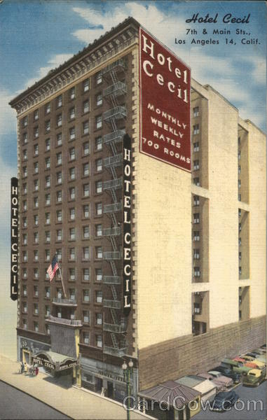 Hotel Cecil Los Angeles California