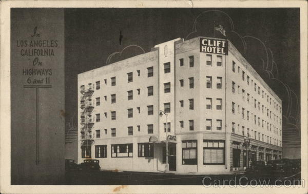 Clift Hotel Los Angeles California