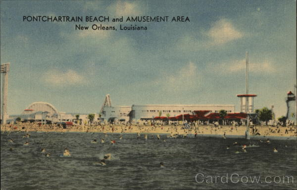 Pontchartrain Beach and Amusement Area New Orleans Louisiana