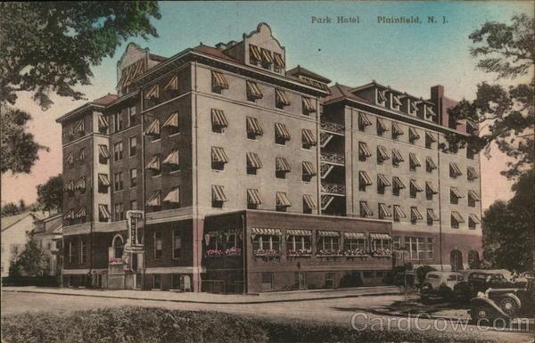 Park Hotel Plainfield New Jersey