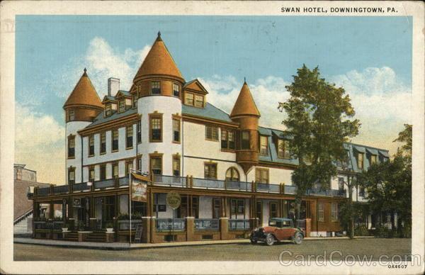 Swan Hotel Downingtown Pennsylvania