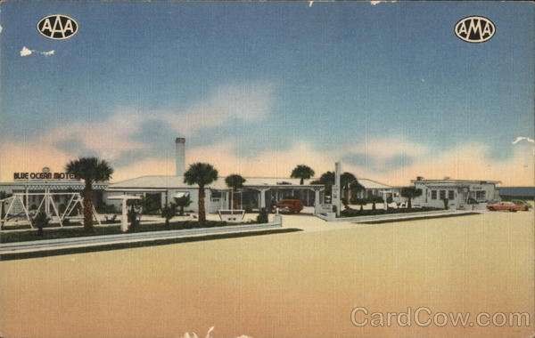 Blue Ocean Motel and Restaurant St. Augustine Florida