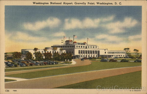 Washington National Airport at Gravelly Point District of Columbia