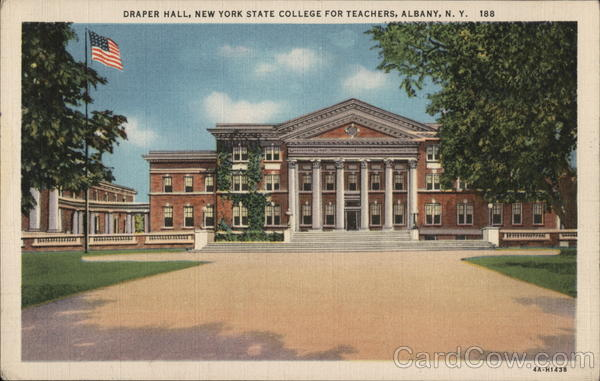 Draper Hall, New York State College for Teachers Albany