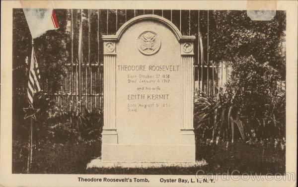 Theodore Roosevelt's Tomb Long Island New York Presidents