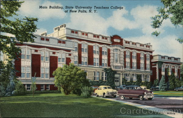 Main Building of the State University Teachers College New Paltz New York