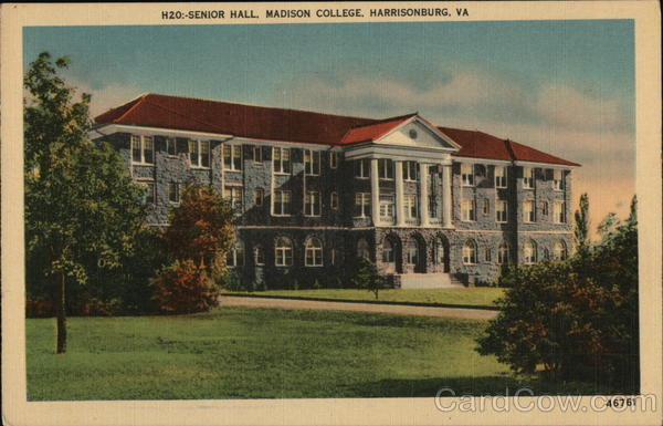 Senior Hall, Madison College Harrisonburg Virginia