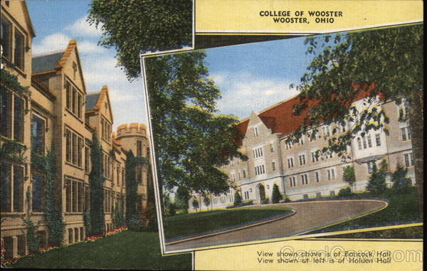 College of Wooster Ohio