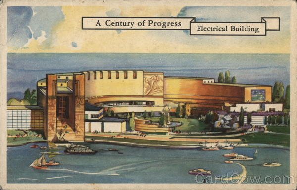 A Century of Progress Electrical Building 1933 Chicago World Fair