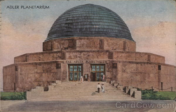 Adler Planetarium 1933 Chicago World Fair