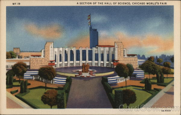 A Section of the Hall of Science - Chicago World's Fair Illinois