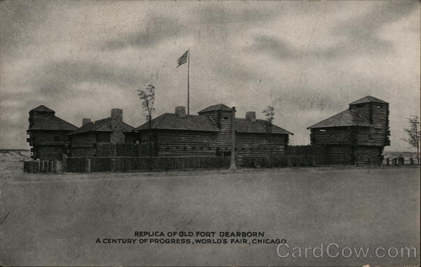 Replica of Old Fort Dearborn, A Century of Progress
