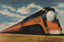 "Southern Pacific Streamlined Train ""Sunbeam"""