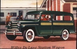 Willys De Luxe Station Wagon