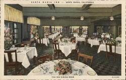 The Inn Dining Room, Santa Maria Inn