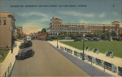 Seaside Inn, Boardwalk and Main Street