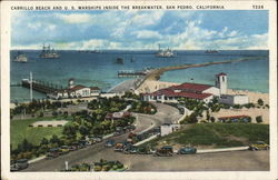 Cabrillo Beach Postcard