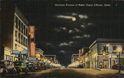 Sherman Avenue at Night