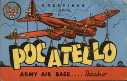 Greetings from Pocatello Army Air Base