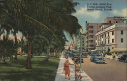 Hotel Row facing Lummus Park