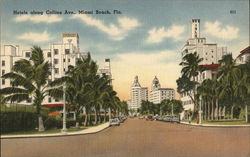 hotels along Collins Ave.