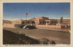The Painted Desert Inn Postcard