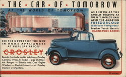 See The Car of Tomorrow at the Crosley Building - New York World's Fair