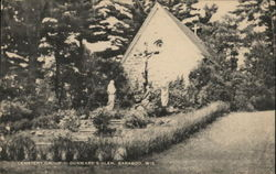 Cemetery Group, Durward's Glen Postcard