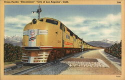 Union Pacific Streamliner City of Los Angeles