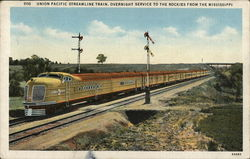 Union Pacific Streamline Train