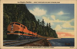 The Empire Builder - Great Northern Railway Steamliner