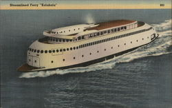 "Streamlined Ferry "" Kalakala"""