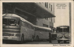 Greyhound Bus Depot and Curio Shop
